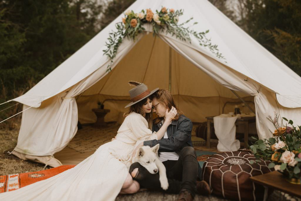 Midwest Elopement Missouri Elopement Missouri Wedding Boho Wedding Inspiration 035